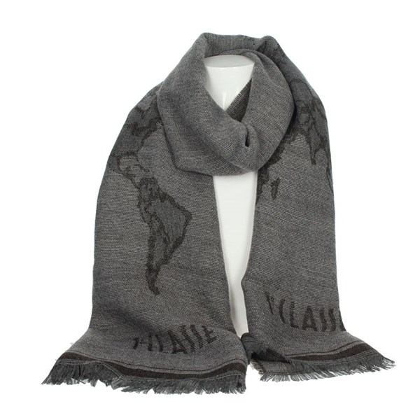 1 Classe Accessories Scarves Grey S025 8515