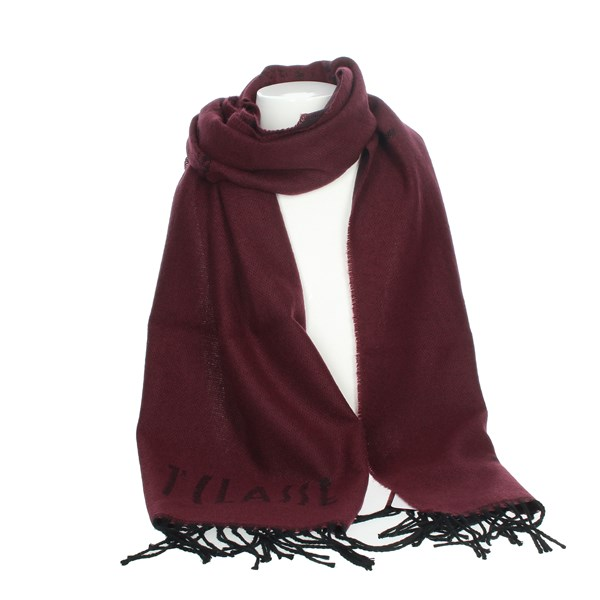 1 Classe Accessories Scarves Burgundy S010 BOSC
