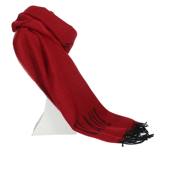 1 Classe Accessories Scarves Red S010 BOSC