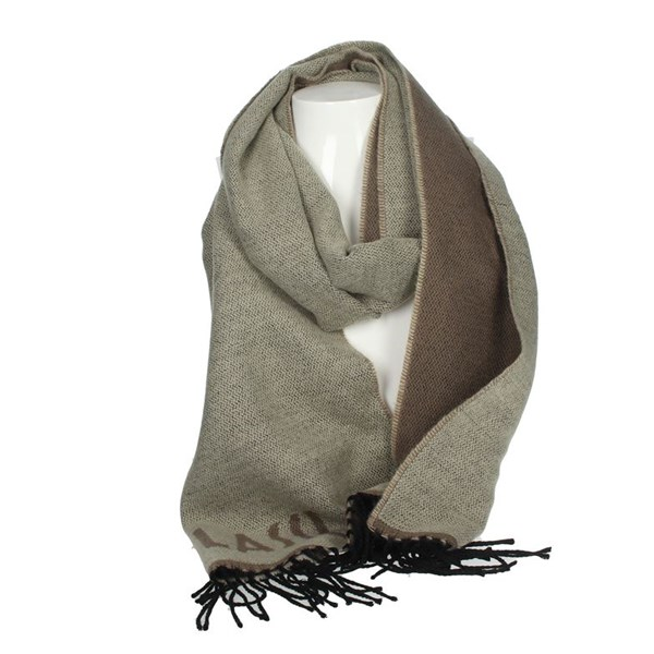 1 Classe Accessories Scarves Brown Taupe S004 8545