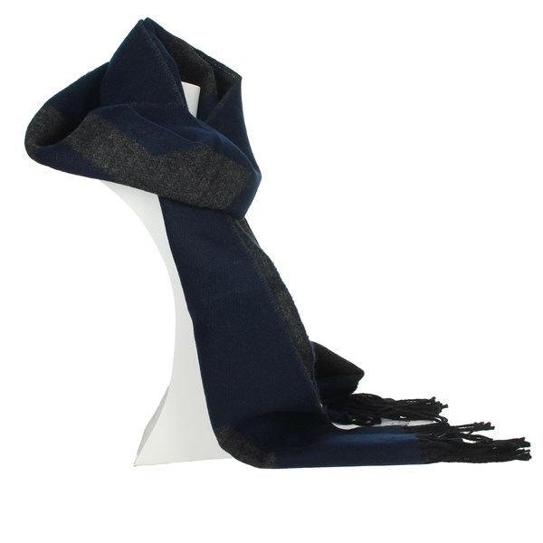 1 Classe Accessories Scarves Blue S015 AM02