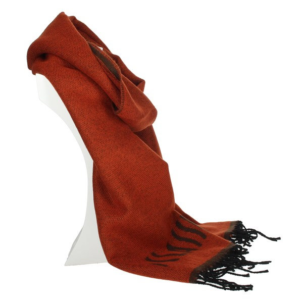 1 Classe Accessories Scarves Brick-red S004 8545