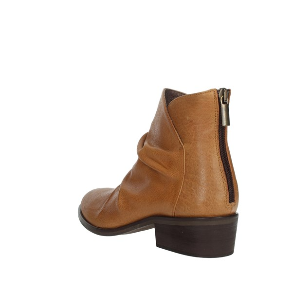 Elena Del Chio Shoes Ankle Boots Brown leather 9303