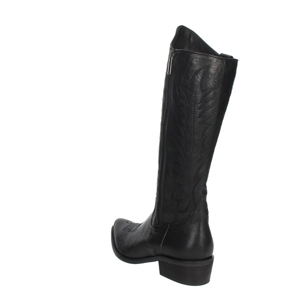 Elena Del Chio Shoes Boots Black 7792