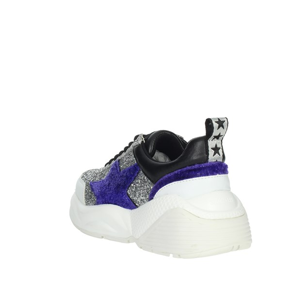 Shop Art Shoes Sneakers Silver 20561