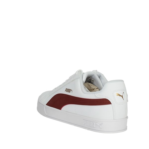 Puma Shoes Sneakers White/Burgundy 359622