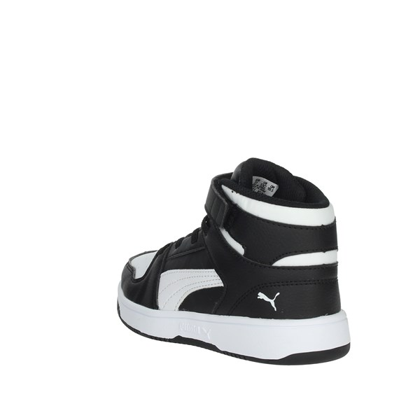 Puma Shoes Sneakers Black/White 370488