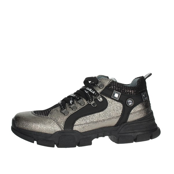 Gaelle Paris Shoes Sneakers Charcoal grey G-121