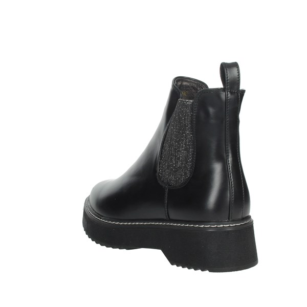 Keys Shoes Ankle Boots Black K113