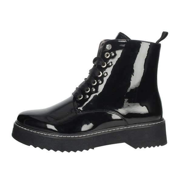 Keys Shoes Boots Black K111