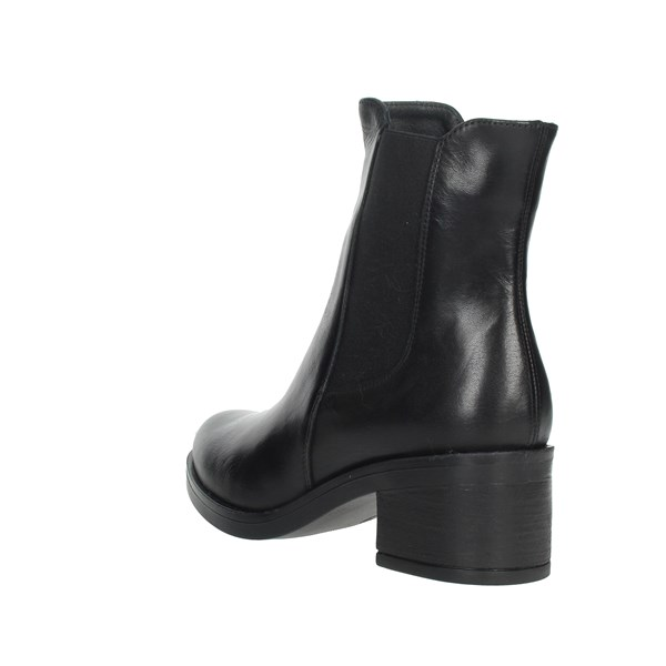 Keys Shoes Ankle Boots Black K010