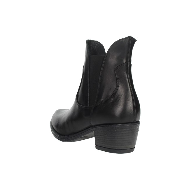 Keys Shoes Ankle Boots Black K081