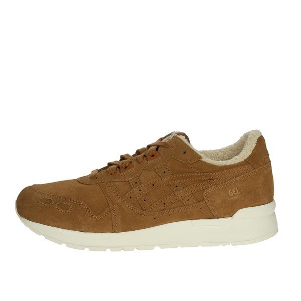 Asics Shoes Sneakers Brown leather 1193A027
