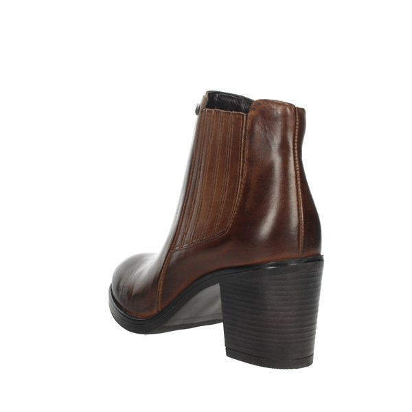 Valleverde Shoes boots Brown leather 16262