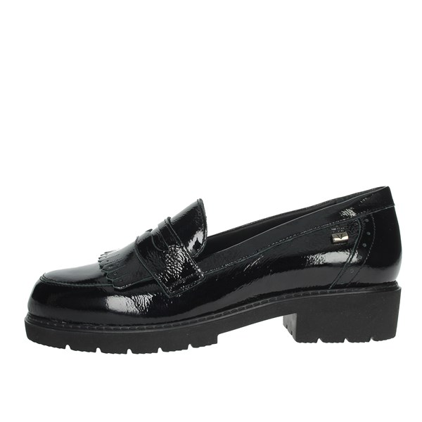 Valleverde Shoes Moccasin Black V17832