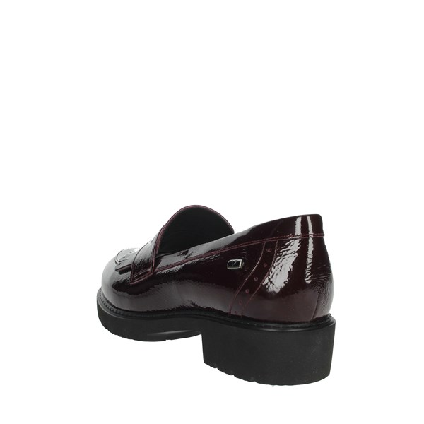 Valleverde Shoes Moccasin Burgundy V17832