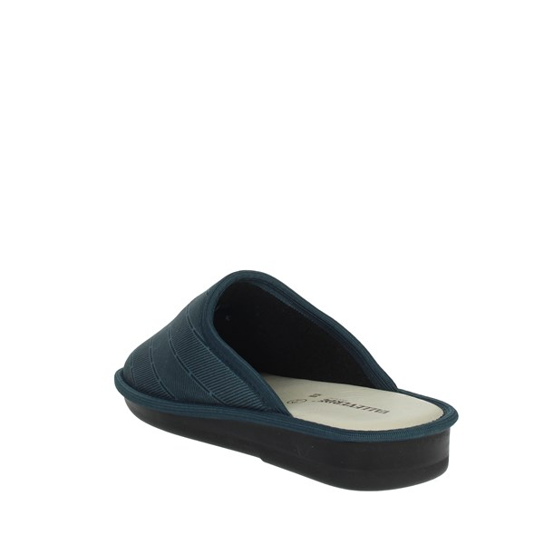 Valleverde Shoes slippers Blue 37806