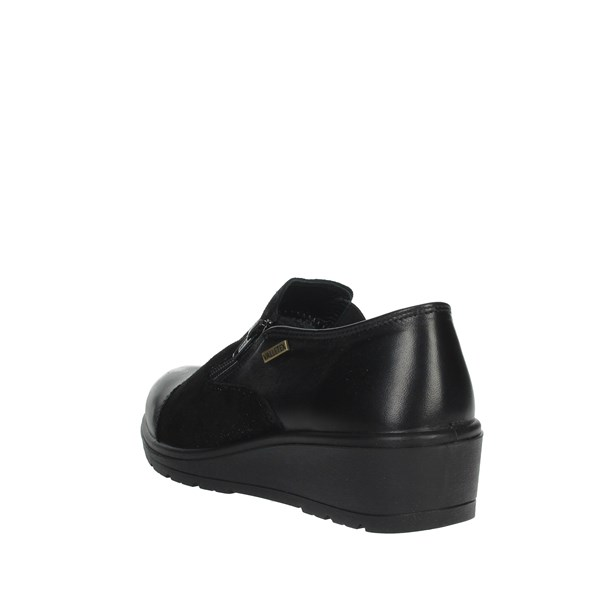 Valleverde Shoes Moccasin Black VL18522