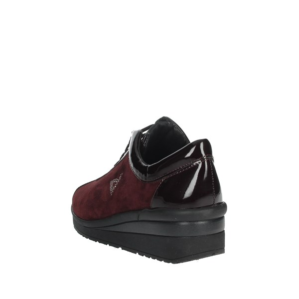 Valleverde Shoes Sneakers Burgundy 36489