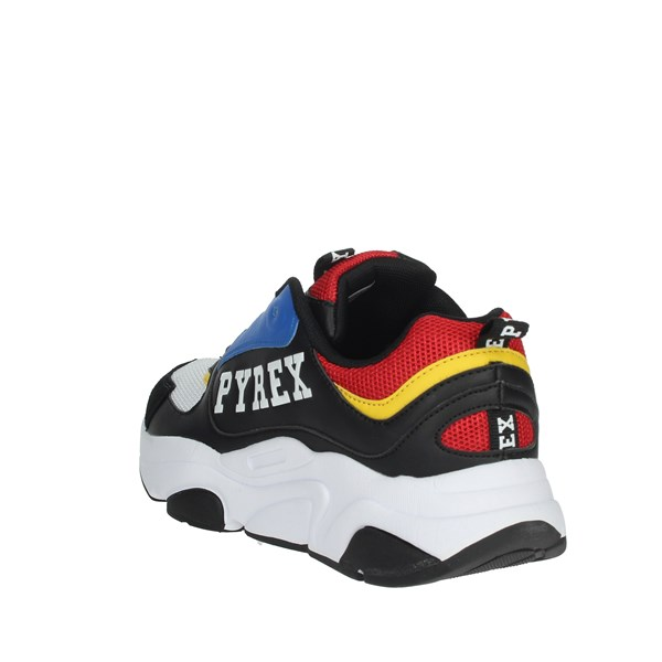 Pyrex Shoes Sneakers Black/Red PY20190