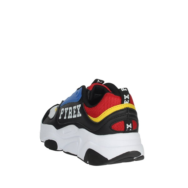 Pyrex Shoes Sneakers Black/Red PY20193