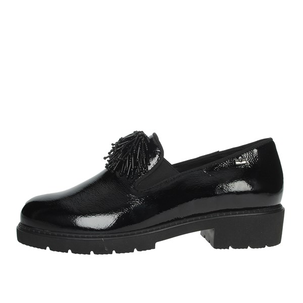 Valleverde Shoes Moccasin Black V17833
