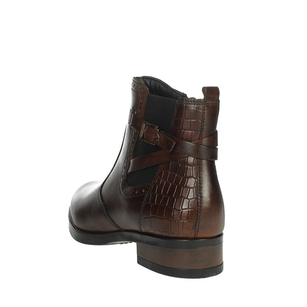 Valleverde Shoes Ankle Boots Brown 47503