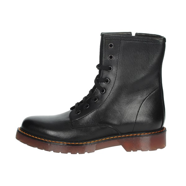 Free Time Shoes Boots Black MRT01