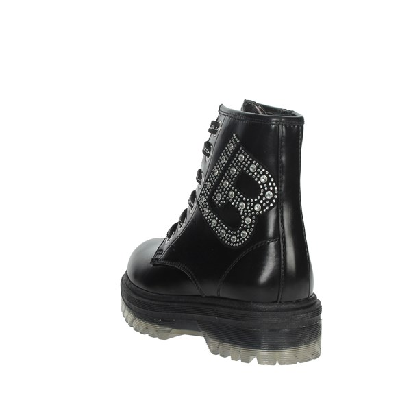 Laura Biagiotti Dolls Shoes Boots Black 5860