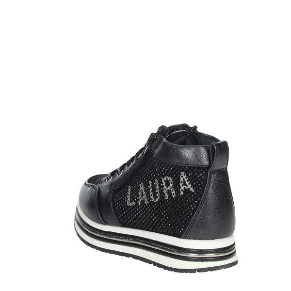 Laura Biagiotti Dolls Shoes Sneakers Black 5920