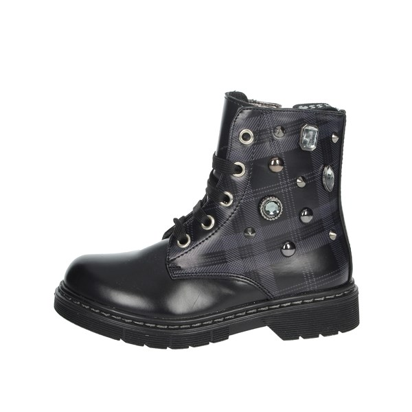 Asso Shoes Boots Black AG-3704