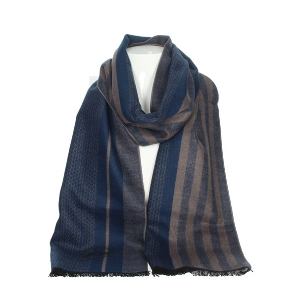La Martina Accessories Scarves Blue/dove-grey SCR 12290