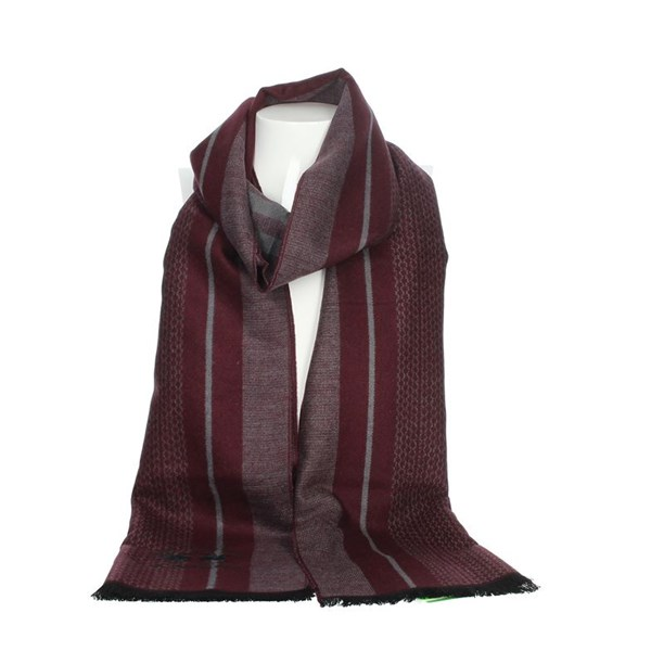 La Martina Accessories Scarves Burgundy SCR 12290