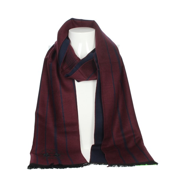 La Martina Accessories Scarves Burgundy SCR 12291