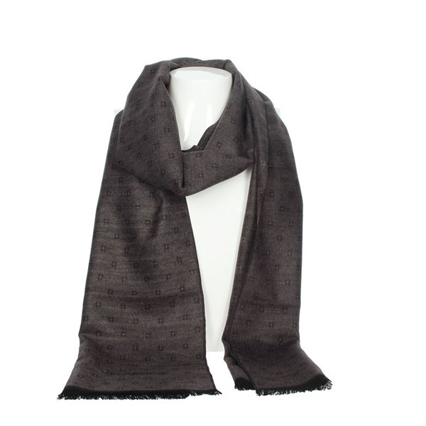 Jeckerson Accessories Scarves Brown Taupe SCR 12287