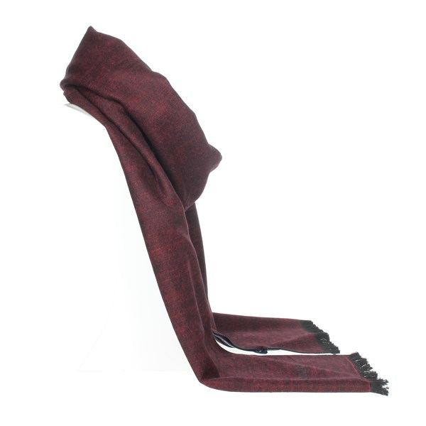 Jeckerson Accessories Scarves Burgundy SCR 12289