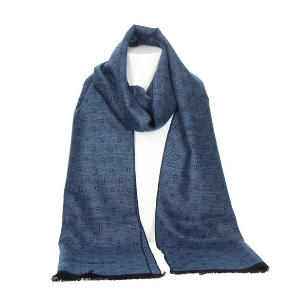 Jeckerson Accessories Scarves Light Blue SCR 12287