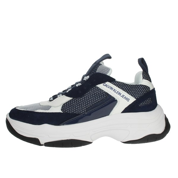 Calvin Klein Jeans Shoes Sneakers Blue/White B4S0133