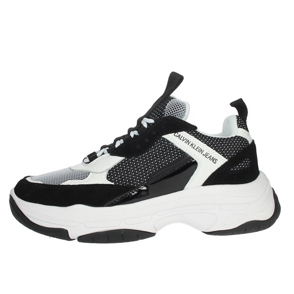 Calvin Klein Jeans Shoes Sneakers Black/White B4S0133