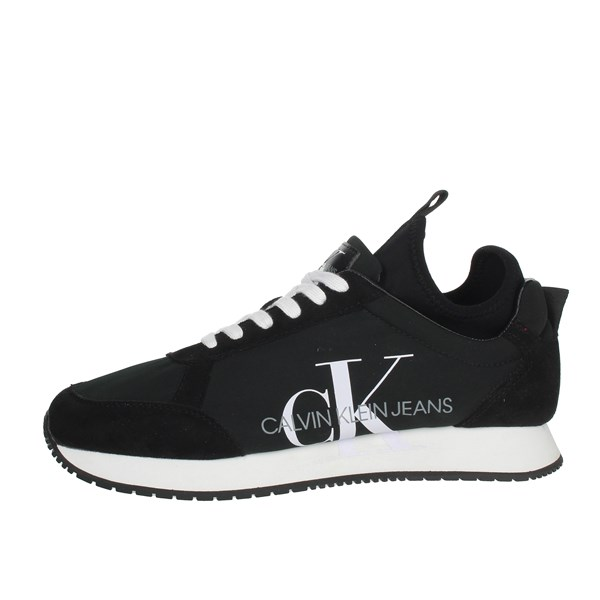 Calvin Klein Jeans Shoes Sneakers Black B4S0136