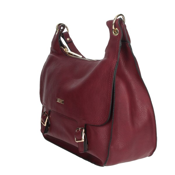 Lancetti Accessories Bags Burgundy LBPD0019HO3
