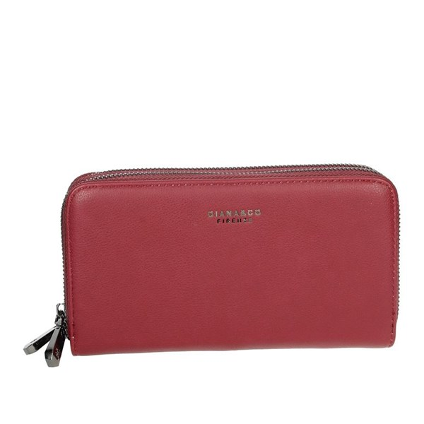 Diana&co Accessories Wallets Red 1799-2