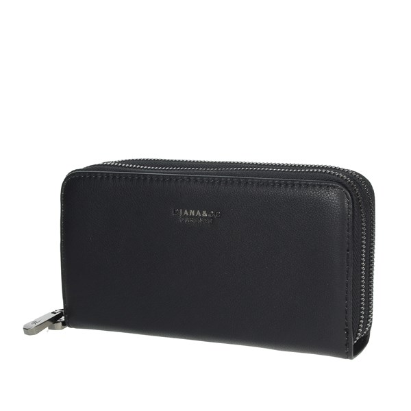 Diana&co Accessories Wallets Black 1799-2