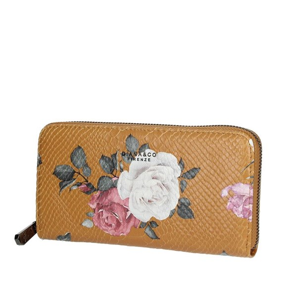 Diana&co Accessories Wallets Mustard 1797-1