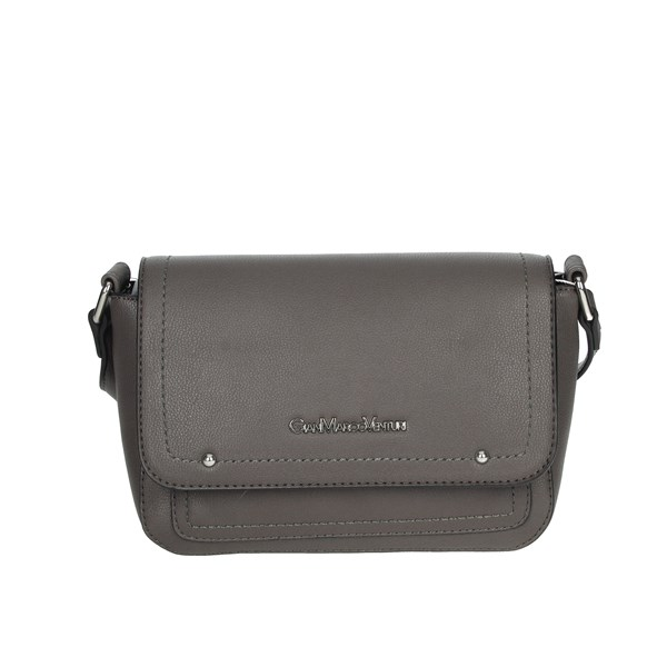 Gianmarco Venturi Accessories Bags Steel grey GBPD0005SR1