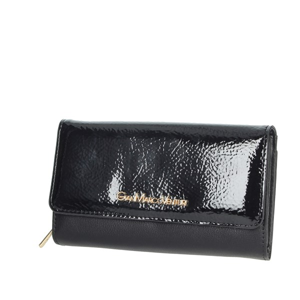 Gianmarco Venturi Accessories Wallets Black GWMD0003L46