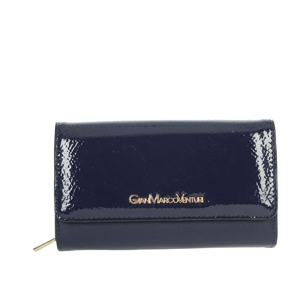 Gianmarco Venturi Accessories Wallets Blue GWMD0003L46