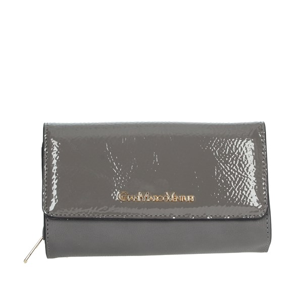 Gianmarco Venturi Accessories Wallet Grey GWMD0003L46