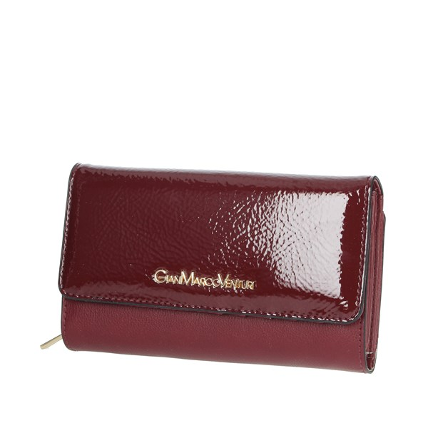 Gianmarco Venturi Accessories Wallets Burgundy GWMD0003L46