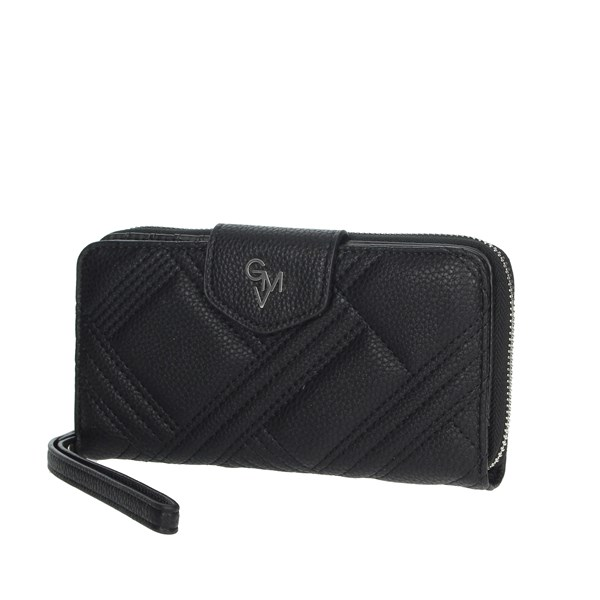 Gianmarco Venturi Accessories Wallets Black GWPD0002L17